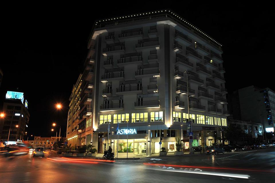 Δάπεδα στο Astoria hotel στην Θεσσαλονίκη με το Politem Blu Fein - Floors at Astoria hotel in Thessaloniki with Politerm Blu Fein