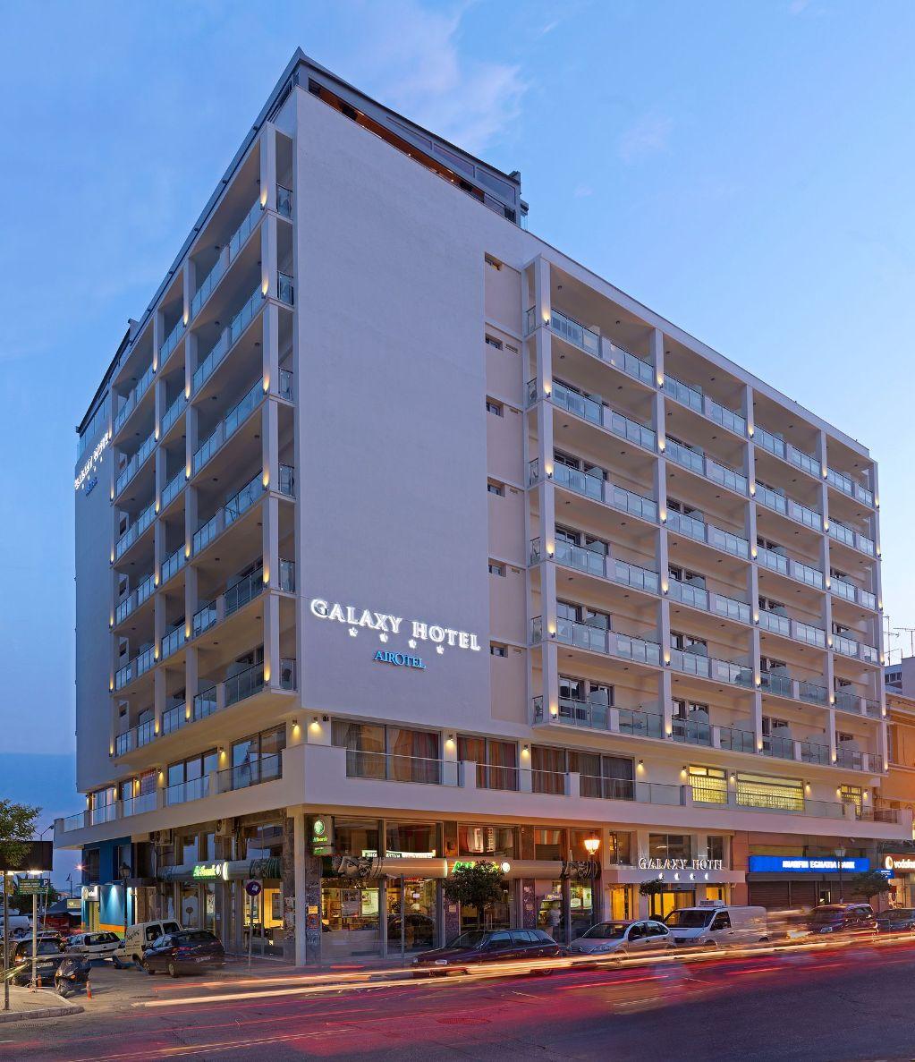 Θερμομόνωση δώματος στο Galaxy Hotel στην Καβάλα με το Politerm Blu επιφάνειας 700sqm