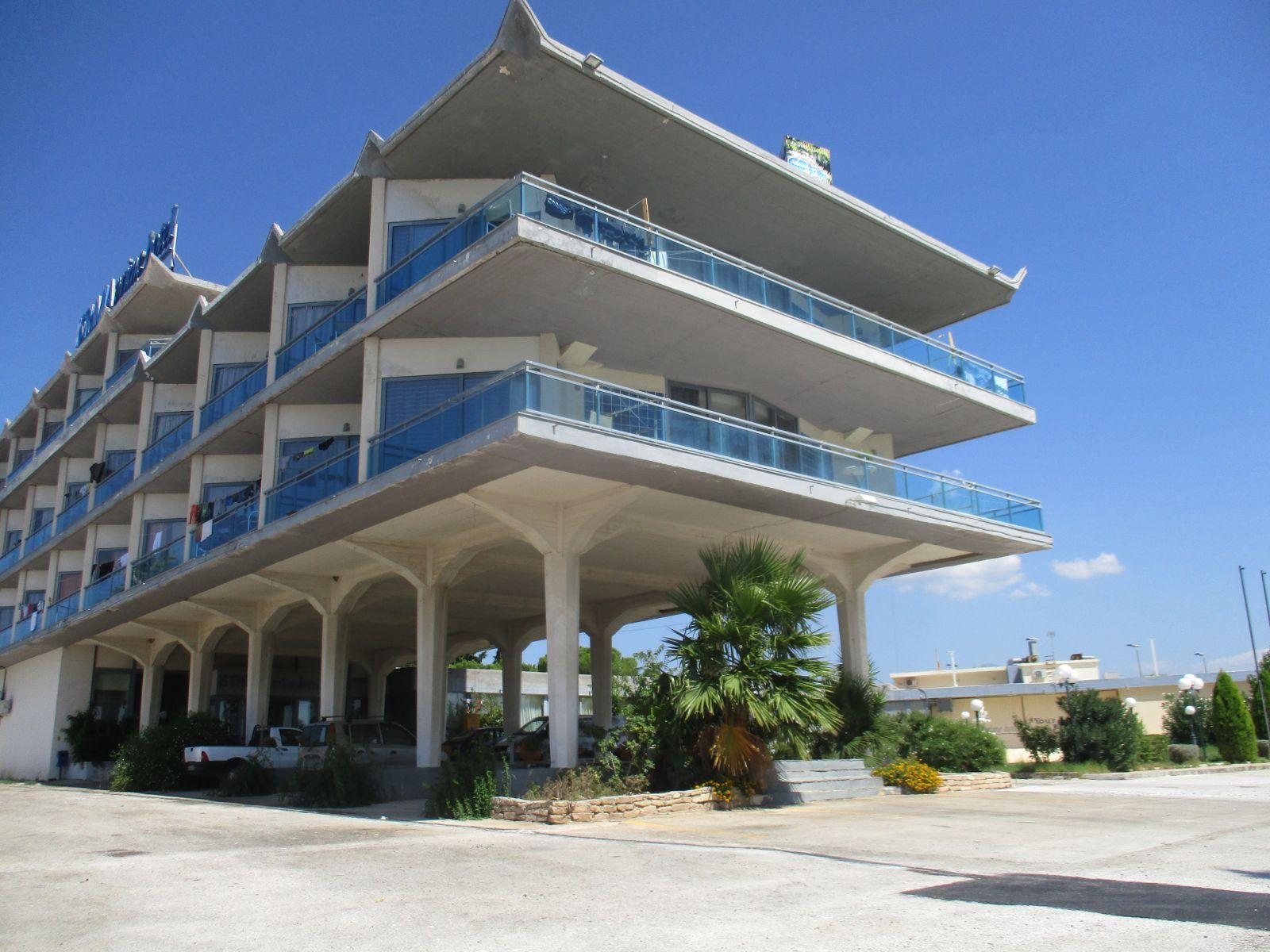 Υγρομόνωση με Tektofle σε ταράτσε στο ξενοδοχείο Ίσθμια στην Κόρινθο επιφάνειας 2.500sqm