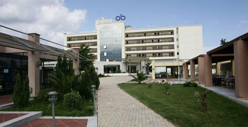 Θερμομόνωση δώματος με το Politerm Blu στο ξενοδοχείο Olympian Bay στην Λεπτοκαρυά