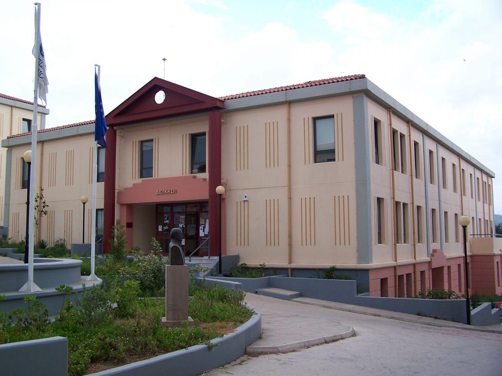 Θερμομόνωση δώματος με το Politerm Blu στο πανεπιστήμιο Αιγαίου στην Λέσβο