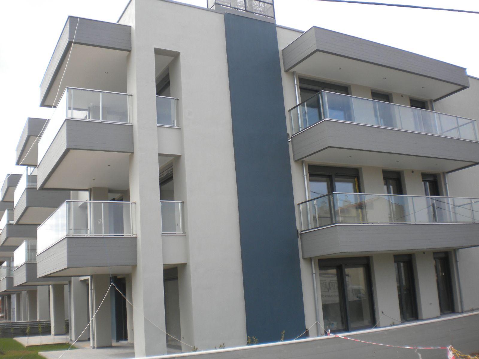 Εξωτερική θερμοπρόσοψη με θερμοσοβά Tektoterm σε πολυτελείς κατοικίες στην Τούμπα Θεσσαλονίκης επιφάνειας 1.250sqm