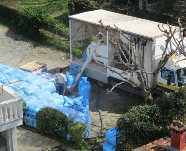 Θερμοϋγρομόνωση ταράτσας με Politerm blu στο ξενοδοχείο Κρόνος στον Πλαταμώνα-Πιερίας