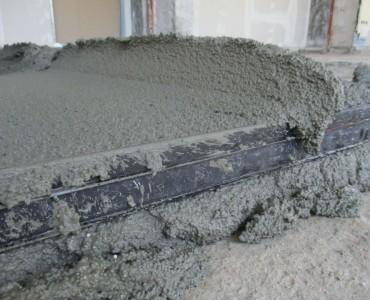 Ελαφρά δάπεδα τελικής στρώσης πλακιδίων με Poliplus fein στο ξενοδοχείο Makedonia Palace