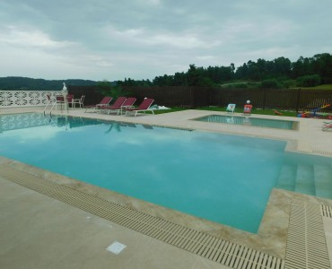 Pool waterproofing